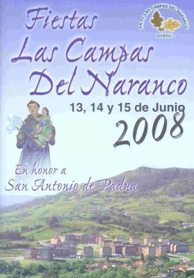 Saluda - Fiestas San Antonio de Padua 2008 - 13, 14 y 15 Junio