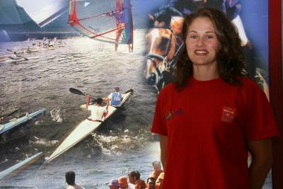 La piragüista Jana Smidakova abre mañana las fiestas del barrio de Las Campas