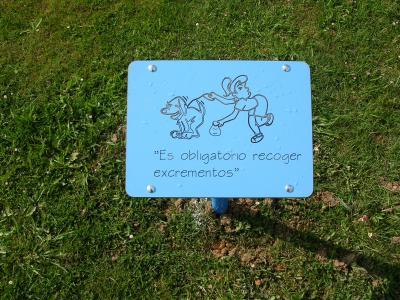 Las Campas señaliza sus parques y jardines