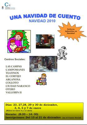 Talleres Infantiles en Centros Sociales